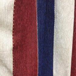 ткань, полоска синяя, красная, велюр, портьерная, купить, барнаул
