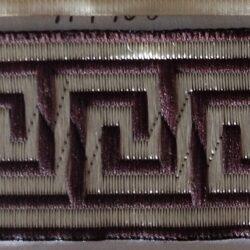114406 тесьма Версаче венге 62р.