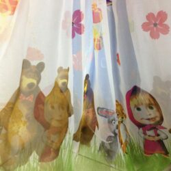 вуаль детская маша и медведь