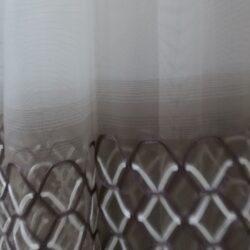 Микросетка с вышивкой