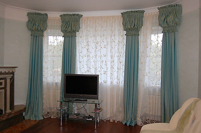 мудрое шторы для комнаты с низкими потолками фото давно